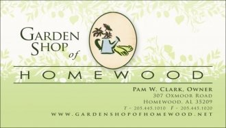 Logo tuincentrum Garden Shop Of Homewood