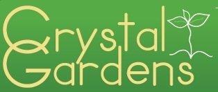 Logo tuincentrum Crystal Gardens