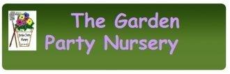 Logo tuincentrum Garden Party Nursery