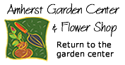 Logo tuincentrum Amherst Garden Center & Flower
