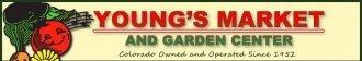 Logo tuincentrum Young's Market & Garden Center