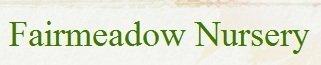 Logo tuincentrum Fairmeadow Nursery