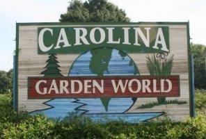 Logo tuincentrum Carolina Garden World
