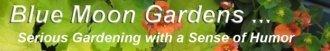Logo tuincentrum Blue Moon Gardens