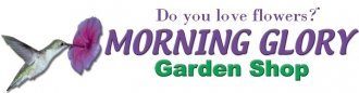 Logo tuincentrum Morning Glory Garden Shop