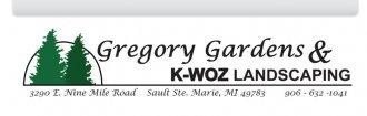 Logo tuincentrum Gregory Gardens