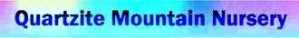 Logo tuincentrum Quartzite Mountain Nursery