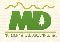 Logo tuincentrum M D Nursery & Landscaping