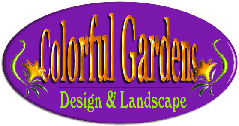 Logo tuincentrum Colorful Gardens