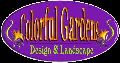 Logo tuincentrum Colorful Gardens