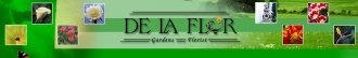 Logo tuincentrum De La Flor Gardens