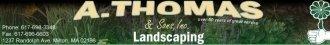 Logo tuincentrum A Thomas & Sons Inc. H&GS