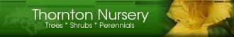 Logo tuincentrum Thornton Nursery