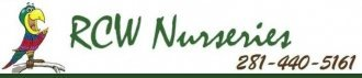 Logo tuincentrum RCW Nurseries