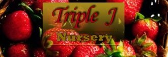 Logo tuincentrum Triple J Nursery