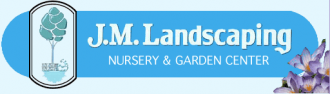 Logo tuincentrum Jm Nursery