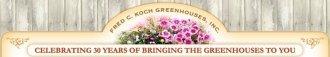 Logo tuincentrum Fred Koch Greenhouses