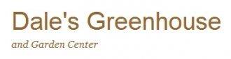 Logo tuincentrum Dale's Greenhouse & Garden Center