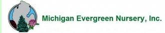 Logo tuincentrum Michigan Evergreen Nursery