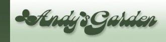Logo tuincentrum Andys Garden Inc Troy