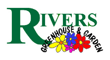 Logo tuincentrum Rivers Greenhouse & Garden