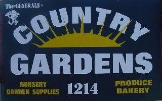 Logo tuincentrum Country Gardens Whiting