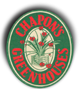 Logo tuincentrum Chapon's Greenhouse & Supply