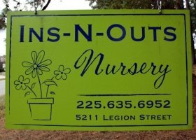 Logo tuincentrum Ins-n-outs Nurseries