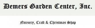 Logo tuincentrum Demers Garden Center