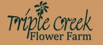 Logo tuincentrum Triple Creek Flower Farm