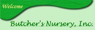 Logo tuincentrum Butcher's Nursery Inc