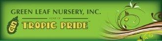 Logo tuincentrum Green Leaf Nursery