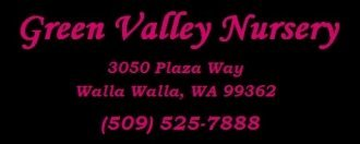 Logo tuincentrum Green Valley Nursery