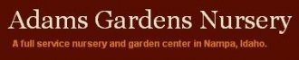 Logo tuincentrum Adams Gardens