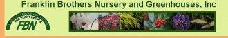 Logo tuincentrum Franklin Brothers Nursery