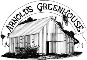 Logo tuincentrum Arnold's Greenhouse Inc