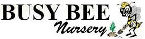 Logo tuincentrum Busy Bee Nursery