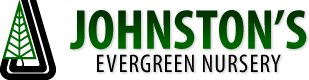 Logo tuincentrum Johnston Evergreen Nursery