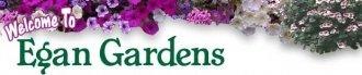 Logo tuincentrum Egan Gardens