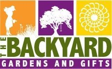Logo tuincentrum The Backyard Gardens and Gifts