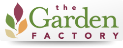Logo tuincentrum Garden Factory