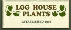 Logo tuincentrum Log House Plants