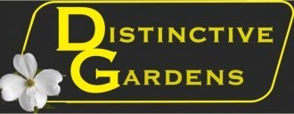 Logo tuincentrum Distinctive Gardens