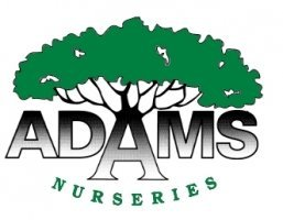 Logo tuincentrum Adams Nurseries