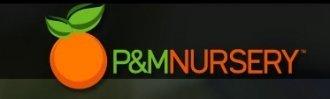 Logo tuincentrum P & M Nursery & Citrus