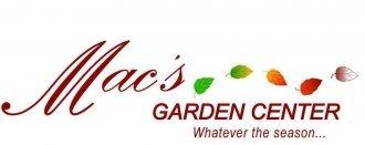 Logo tuincentrum Mac's Garden Center