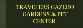 Logo tuincentrum Travelers Gazebo Gardens