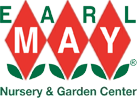 Logo tuincentrum Earl May Omaha