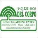 Logo tuincentrum Del Corpo Home & Garden Center