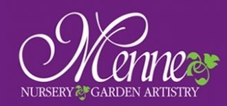 Logo tuincentrum Menne Nursery and Garden Artistry